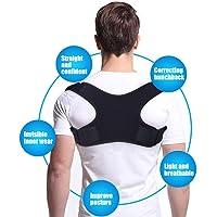 ZSZBACE Comfort Posture Corrector Back Support Brace per Uomini e Donne Allevia Il Mal di Schiena Inferiore e Superiore Migliora la Postura e Fornisce Supporto Lombare