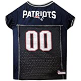 Pets First NFL New England Patriots Pet Jersey, Small