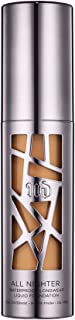 product image for Urban Decay All Nighter Liquid Foundation, 7.75 Medium-Dark - Flawless, Full Coverage for Oily & Combination Skin - Matte Finish - Waterproof & Transfer-Resistant - 1.0 fl oz