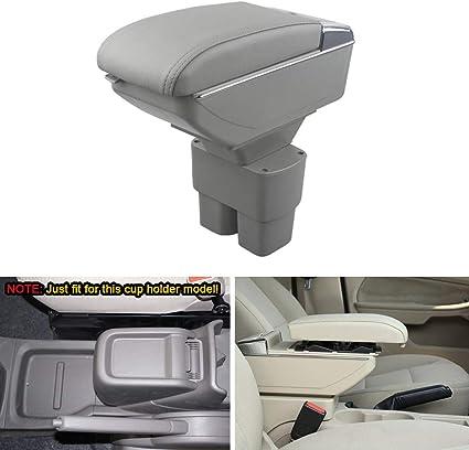 Para 2010-2017 N issan NV200 Auto Apoyabrazos Consola Central Reposabrazos Accesorios Beige
