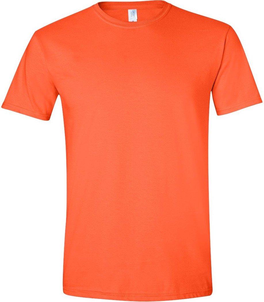 (ギルダン) Gildan メンズ ソフトスタイル 半袖Tシャツ トップス カットソー 男性用 B005TZ6M0I 3L|オレンジ オレンジ 3L