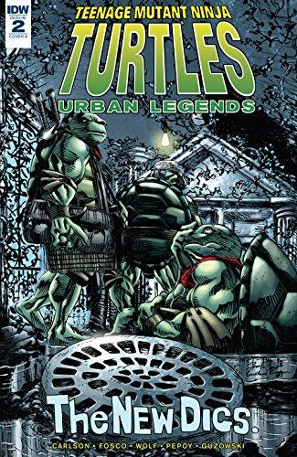 Amazon.com: Teenage Mutant Ninja Turtles: Urban Legends #2 ...