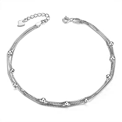 tribal anklet products silver photo grande pm silberuh anklets