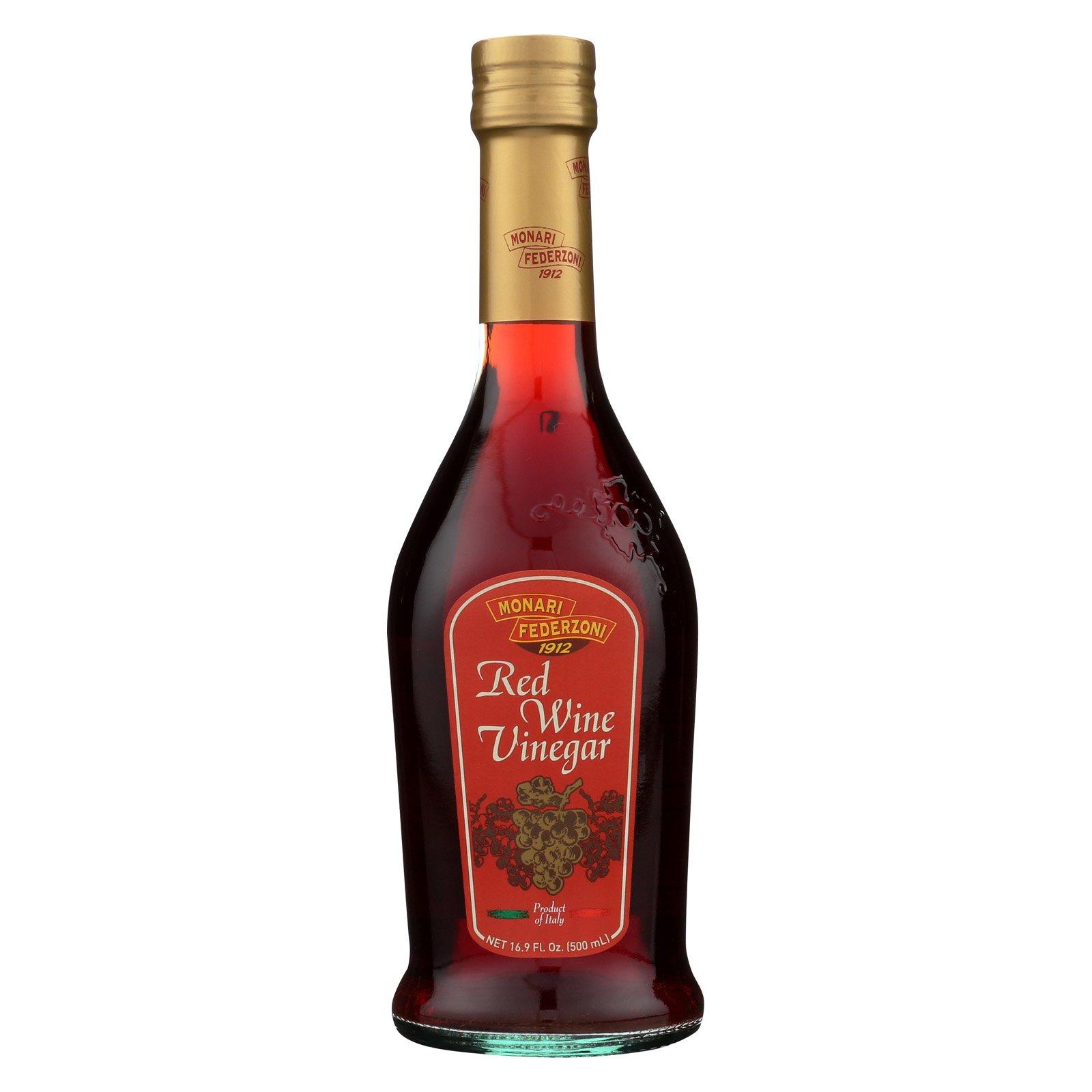 Monari Federzoni Red Wine Vinegar - Case of 6-16.9 Fl oz.