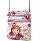 19 cm,Multicolour Karactermania Frozen Smile-Round Shouler Bag Messenger Bag
