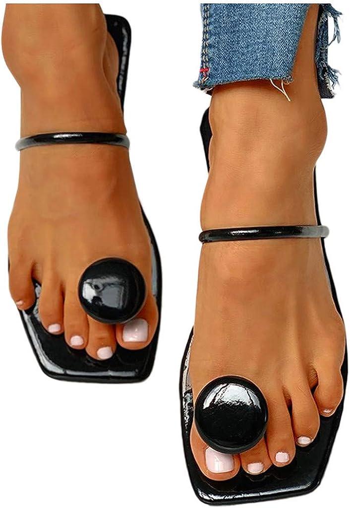 haoricu Womens Fashion Open Toe Sandals Summer Bohemian Dress Party Sandals Girl Slipper
