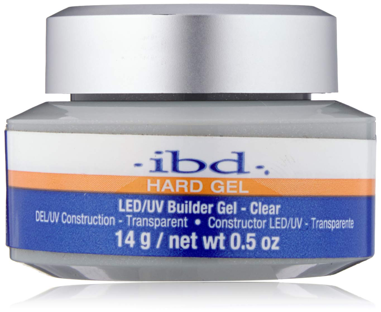IBD LED/UV Gels Builder Gel Clear, 0.5 oz by IBD