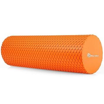 Amazon.com : Amoui 3.93 inches EVA Yoga Fitness Foam Roller ...