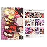 kpop YG Girl Group Black Pink A3 Official Photo Poster Sticker Set 12 Sheets Bromide (ver.3)