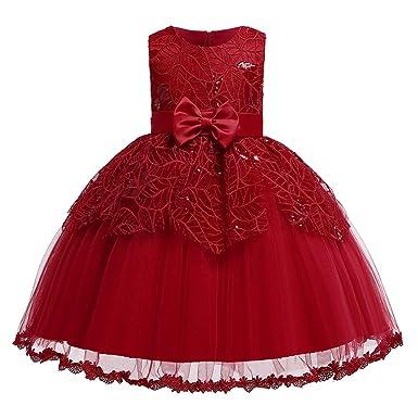 Grsafety Vestido De Princesa Con Tutú Para Niñas Vestido De