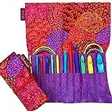 Denise2Go Interchangeable Crochet Hook Set, Complete (Red Flowers)