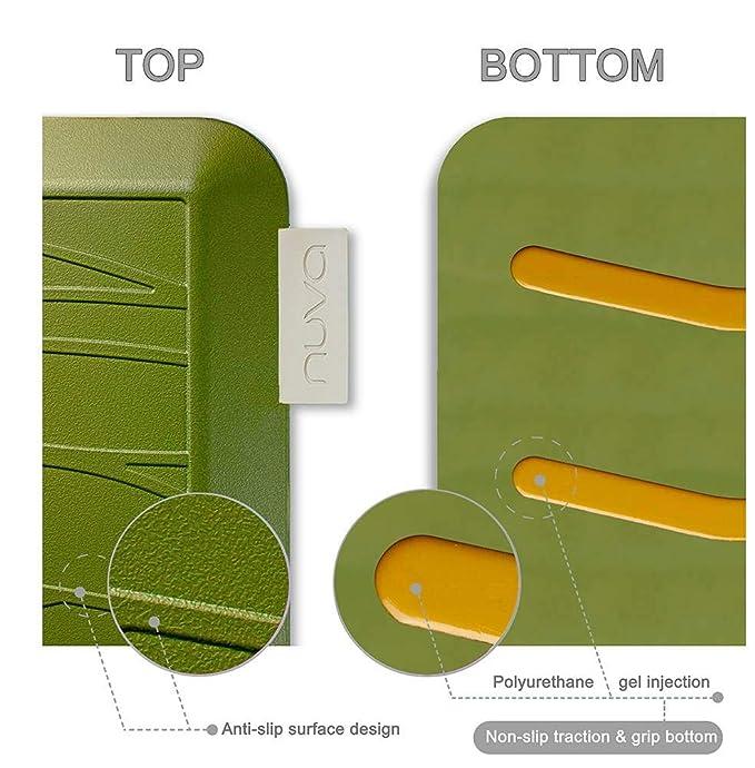 Nuva Cocina alfombras antideslizante antifatiga antimicrobiano > 99,9%, No tóxico olor, resistente al agua, 30 x 20 x 0,75 pulgadas., varios tamaños ...