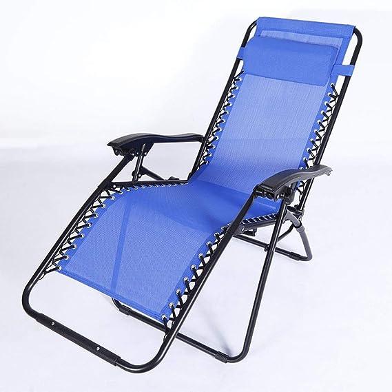 Amazon.com: Zcxbhd - Sillones reclinables plegables de playa ...
