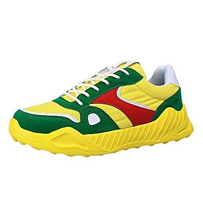scarpe di separazione a533c 3eec4 MMLC_Scarpe da Ginnastica Basse Uomo, Scarpe Sportive Low-Top ...