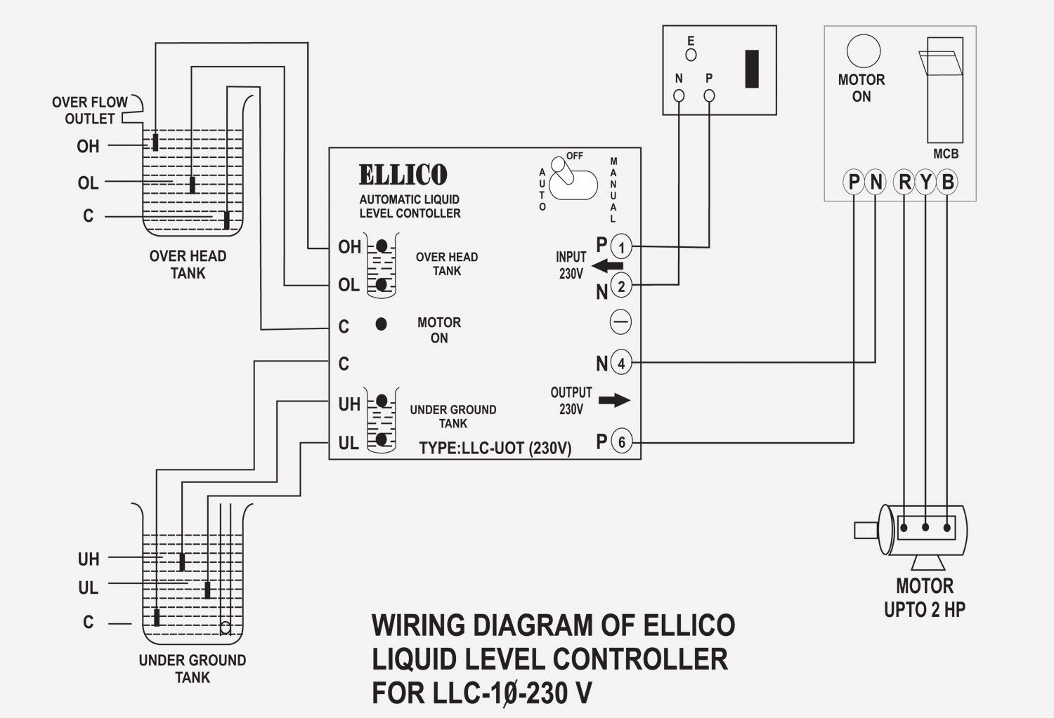 Ellico Automatic Liquid Level Controller on