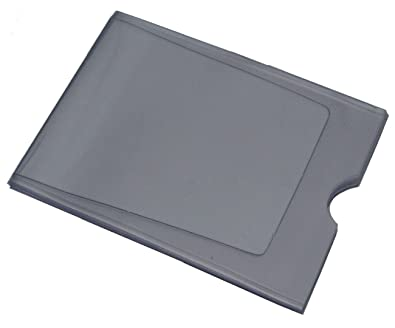 replacement plastic credit card purse wallet insert sleeves 1 x 10 card landscape - Plastic Credit Card