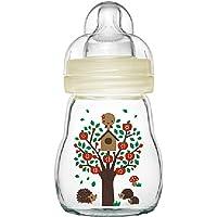 MAM Feel Good Baby Glass Bottle, Capacity Clear, 170ml