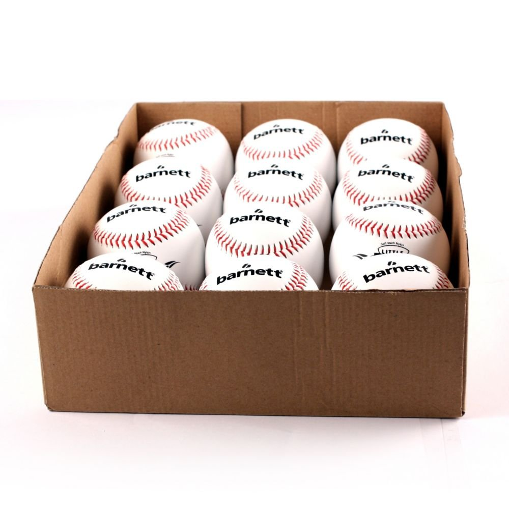 TS-1 Baseball Ball Training Baseball, Grösse 9'(inch), Farbe weiß, 12 Stück (1 Dutzend)