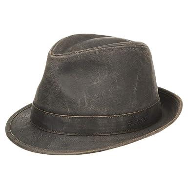 Stetson Odessa Trilby Cloth Hat trend oilskin hats  Amazon.co.uk  Clothing 5b5eceada7f