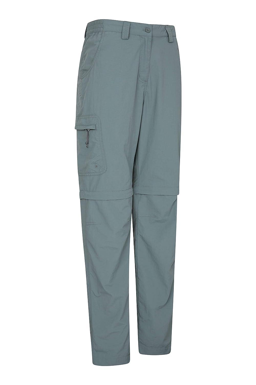 d/écontract/é Mountain Warehouse Pantalon Convertible Explore pour Femmes Camping s/échage Rapide Voyage Pantalon Anti-moustiques l/éger