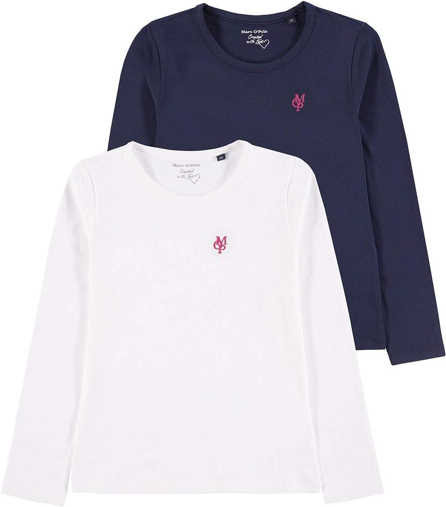 Marc O Polo Kids 2er T-Shirt 1/1 Arm Conjunto, (2 Pack ...