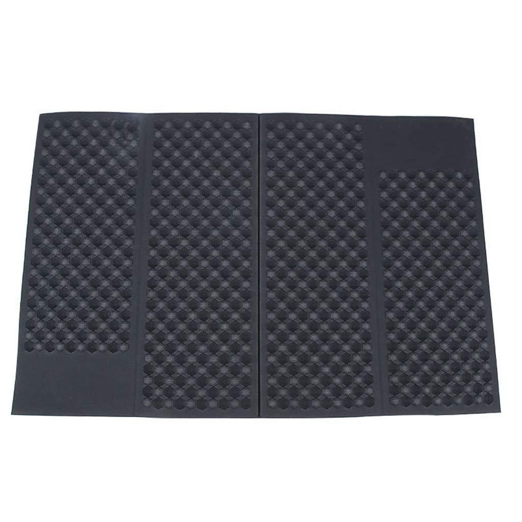 Cat Litter Mat, Foldable Litter Trapping Mat Non Slip Waterproof for Hooded Litter Box Traps Litter Easy Clean,Black