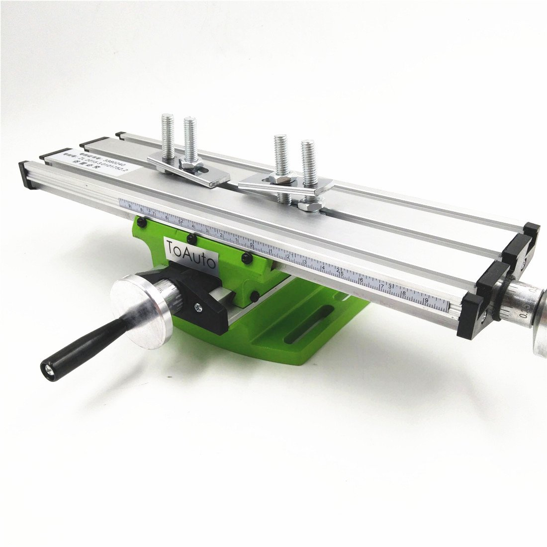 Milling Worktable 310×90MM Milling Working Table Milling Machine Compound Drilling Slide Table For DIY Bench Drill by TOAUTO (Image #3)