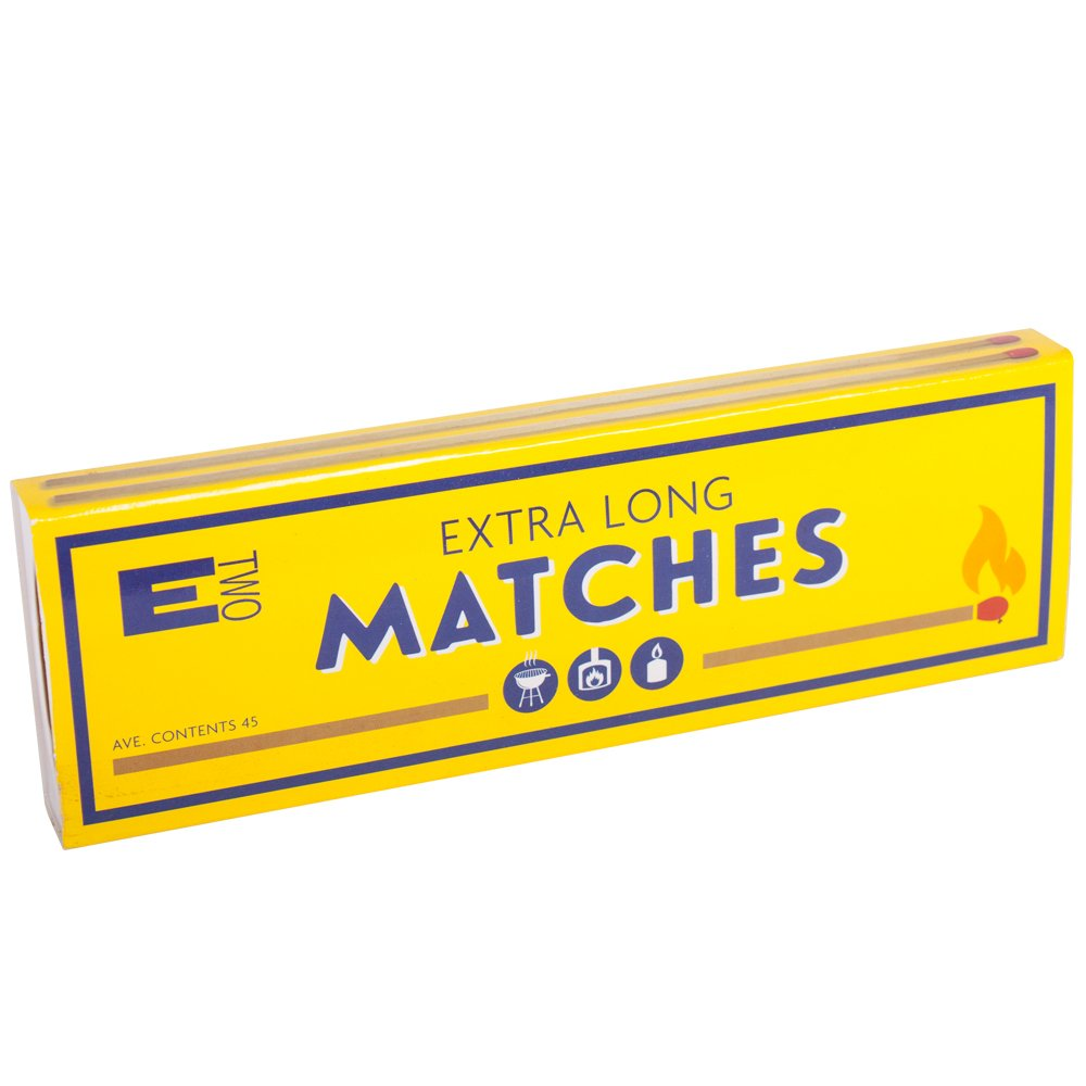 Extra Long Durable Safety Matches 20 Centimetre Wood Stove Lighters ETwo