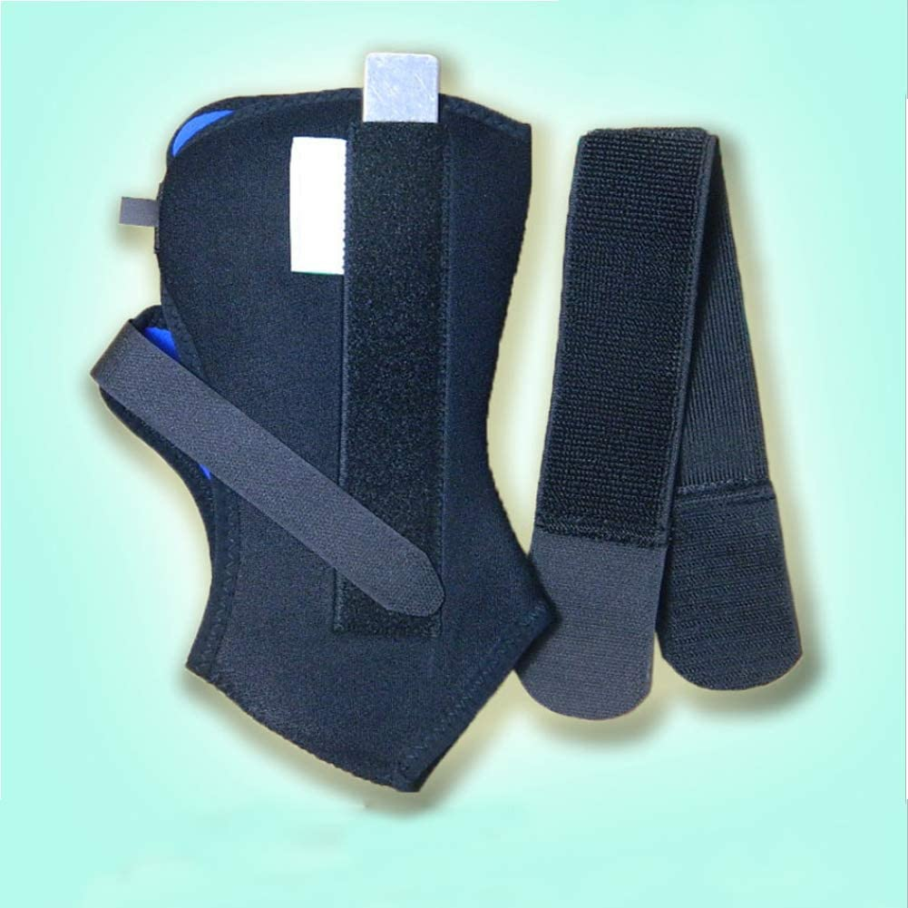 Plantar Fasciitis Orthosis Ankle Brace Support Foot Position Support to Help Repair Torn Ankle Ligaments Relieve,L Foot Drop Brace Ankle Support