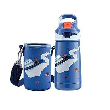 400 ml Botella de Agua pequeña para niños Acero Inoxidable ...