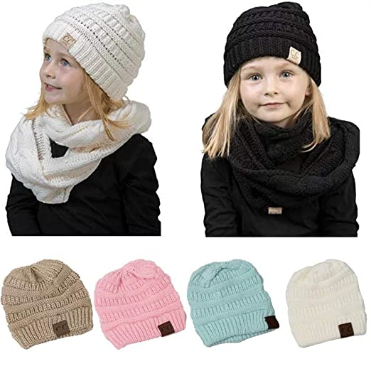 4efd249e0 Amazon.com  ivya Baby Girls Beanie Cap Infant Lovely Kitty Hats Fall ...