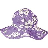 Baby Banz 11075 Banz 50+ UV Koruma Çift Taraflı Güneş Şapkası, Mor