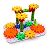 Bo-Toys Deluxe Gears Building Set, Learning