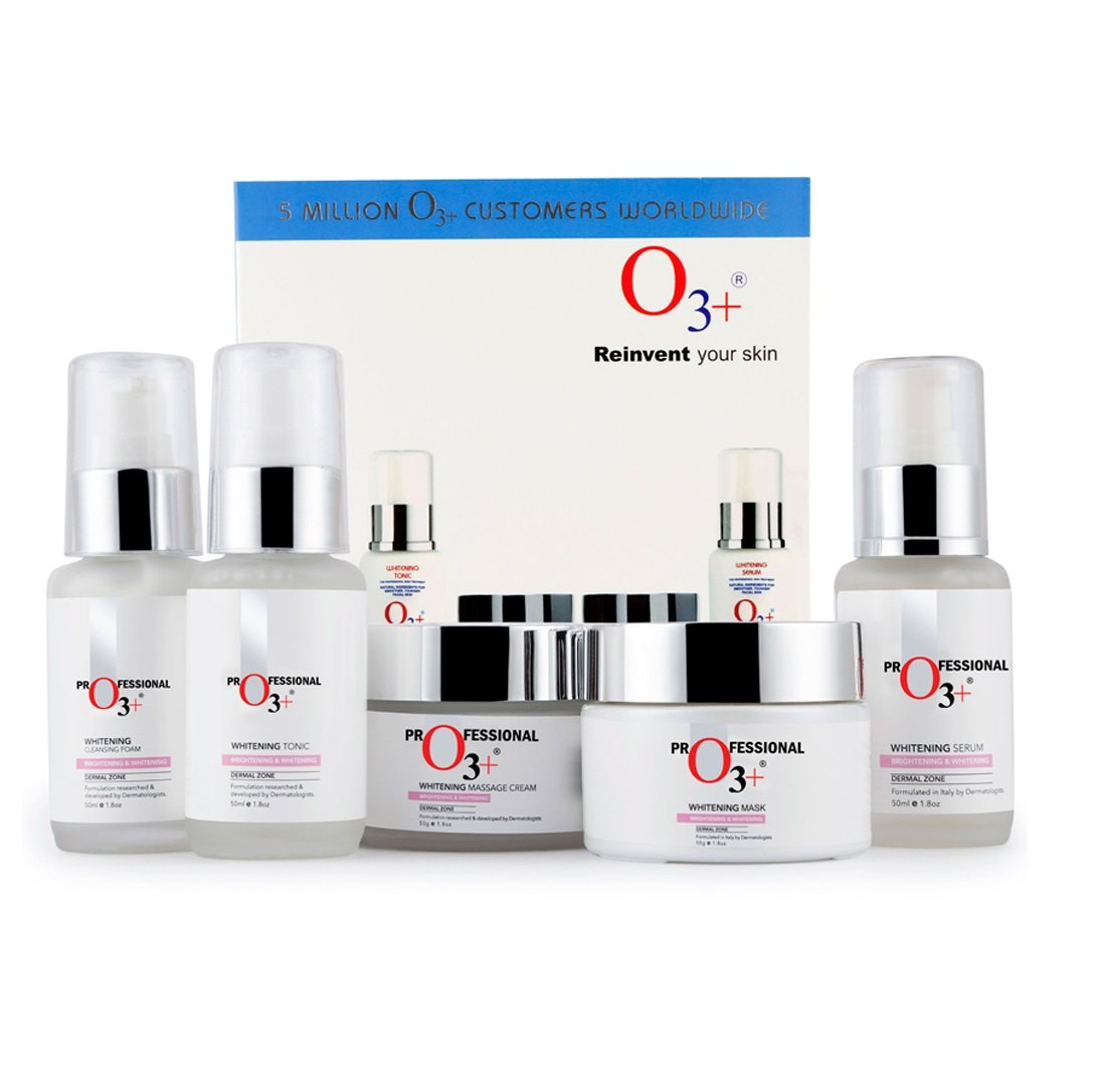 O3+ Whitening Facial Kit for Tan-Pigmented Skin Radiance & Shine (Regular Pack) product image