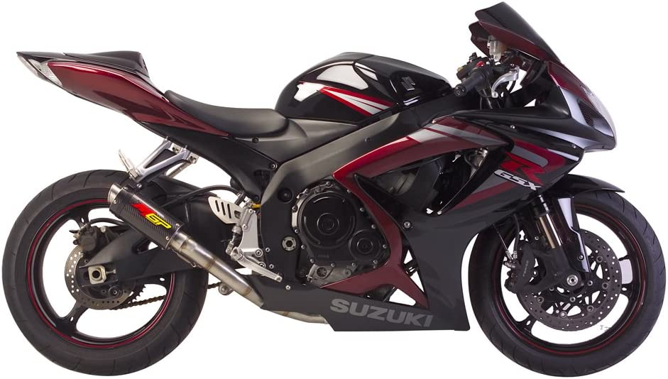 Hotbodies Racing 60610-2400 Carbon Fiber Slip-On MGP Exhaust Canister