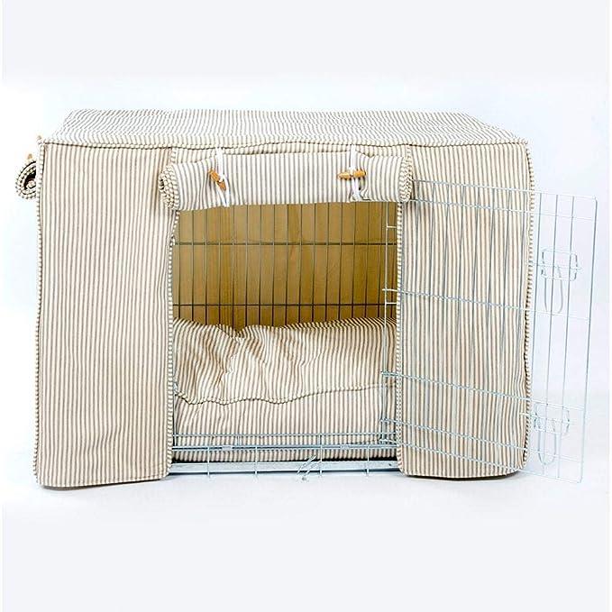 Regency rayas perro Crate, por los Lores y labradores: Amazon.es: Productos para mascotas