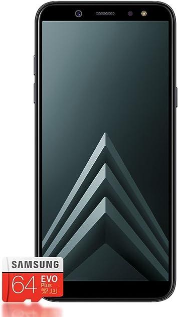 Samsung Galaxy A6 + Smartphone (2018) + tarjeta SD de 64 GB ...