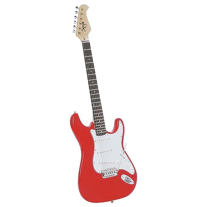 Saga Kit GR55061 St-10 de la guitarra eléctrica: Amazon.es: Instrumentos musicales