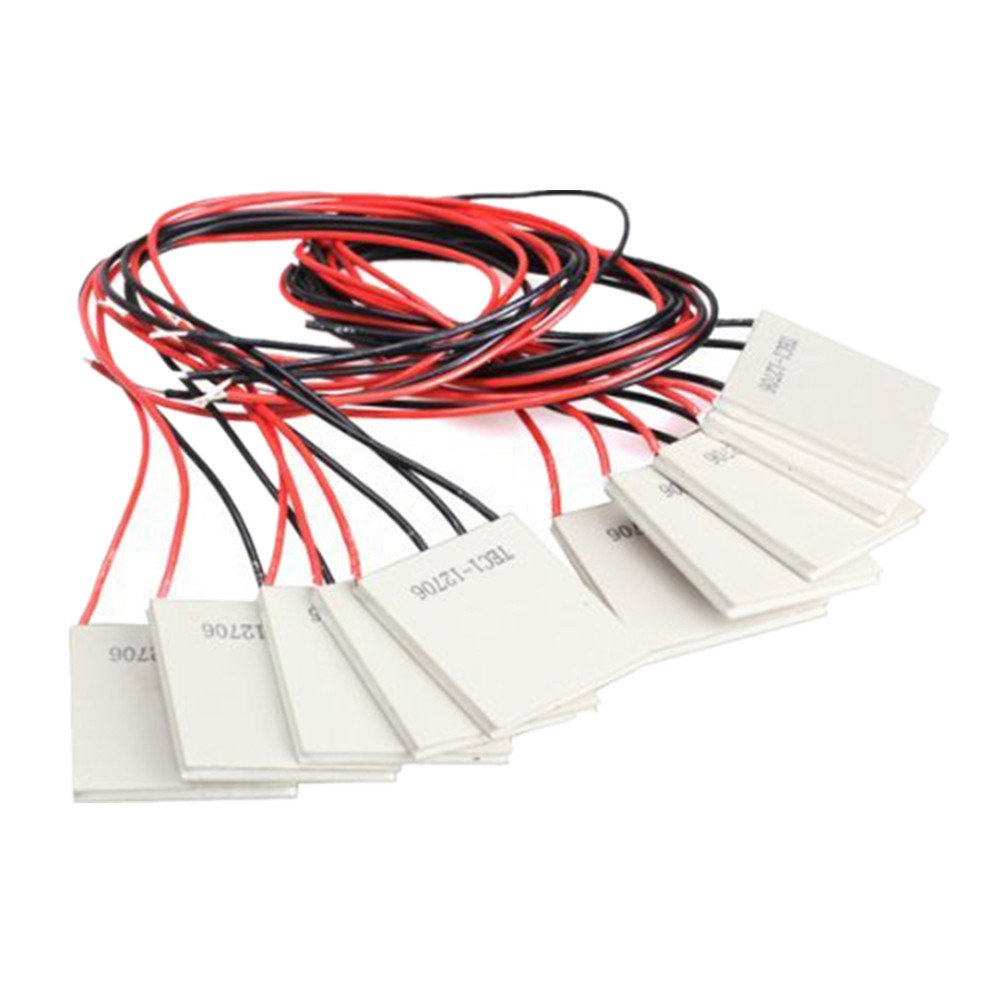 GeeBat 10PCS TEC1-12706 Thermoelectric Cooler Heat Sink Heatsink Cooling Peltier 12V 5.8A
