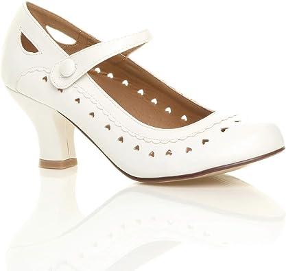 Outlet Best Sellers chaussures rouges femme petit talon