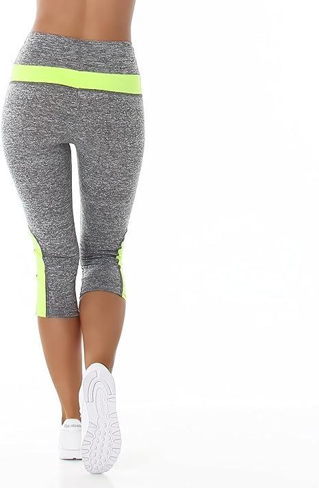 Flower Power Leggins Mujer Fitness Deporte Leggins Pantalones Leggings para Mujer Deporte Mallas Yoga Pilates Leggins Mujer Talla L/XL: Amazon.es: Deportes y aire libre