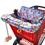 Milliard Shopping Cart Cover, Use To Cover Grocery Cart, Makes The Seat More Comfortable, And Protects Your Baby From Germs