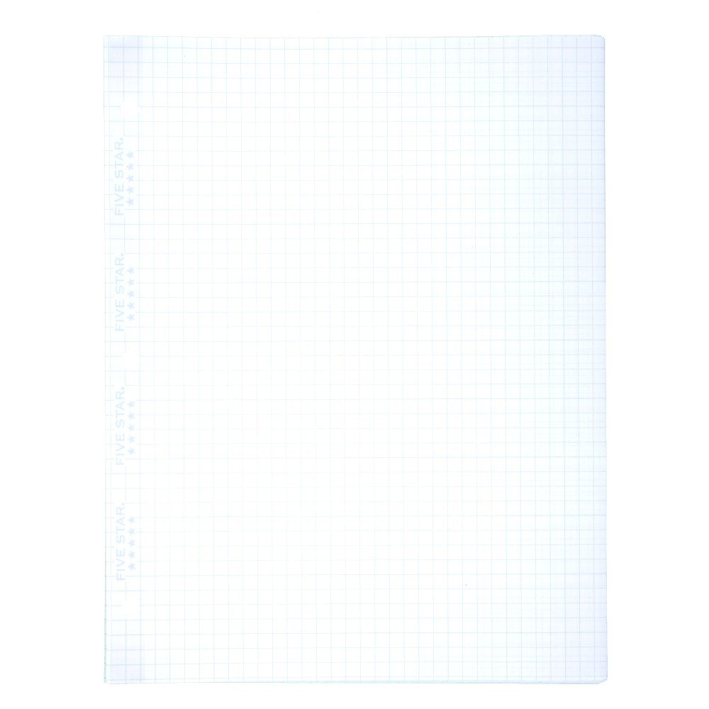 Amazon Five Star Filler Paper Graph Ruled Paper 100 Sheets – Print College Ruled Paper
