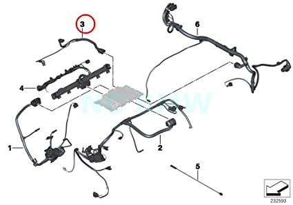 Amazon Com Bmw Genuine Valvetronic Servomtr Engine Wiring Loom