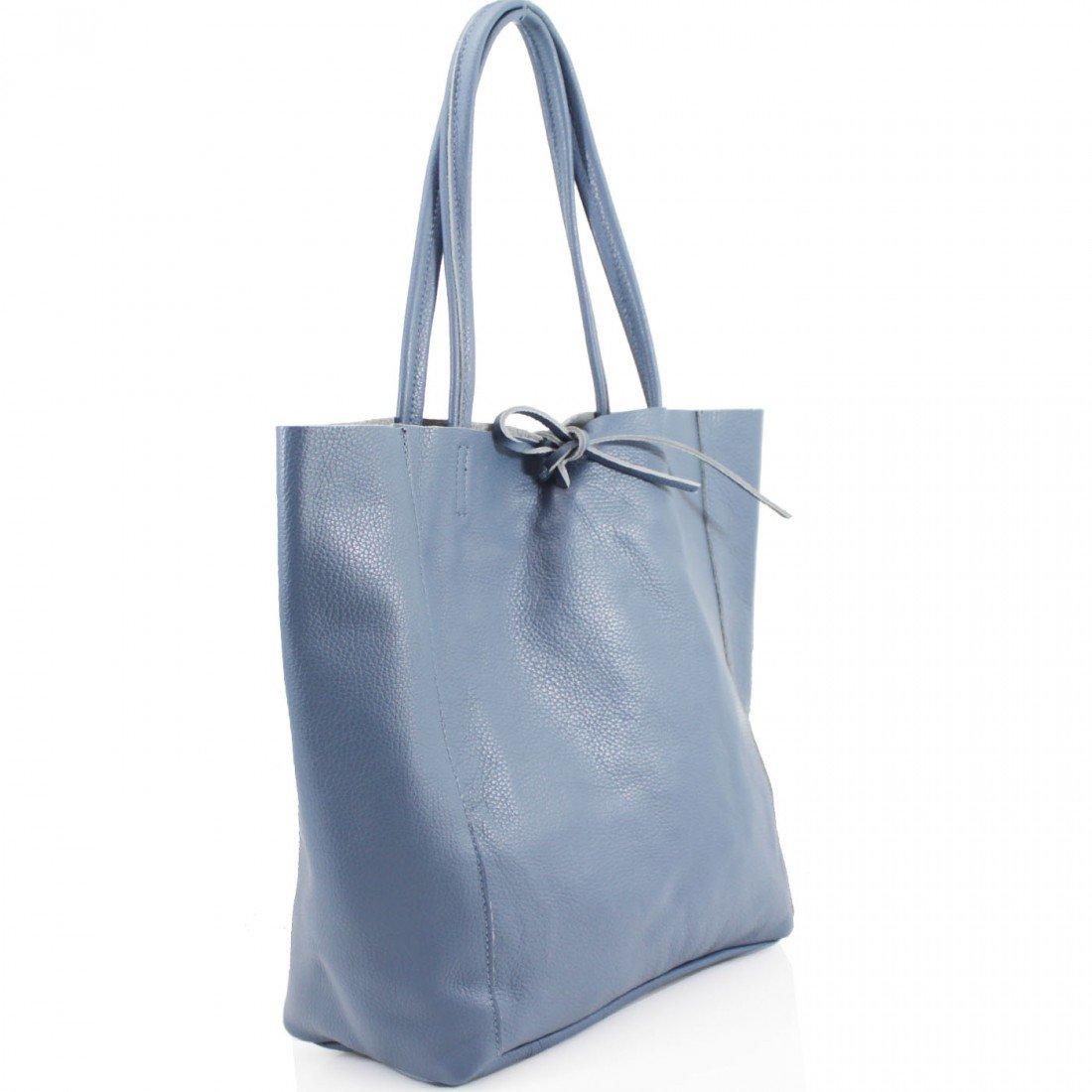 327c3af86a81 Ladies Soft Italian Real Leather Shopper Tote Bag Women Girls Shoulder Bag