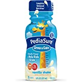 PediaSure Grow & Gain Nutrition Shake For Kids, Vanilla, 8 fl oz (Pack of 16)