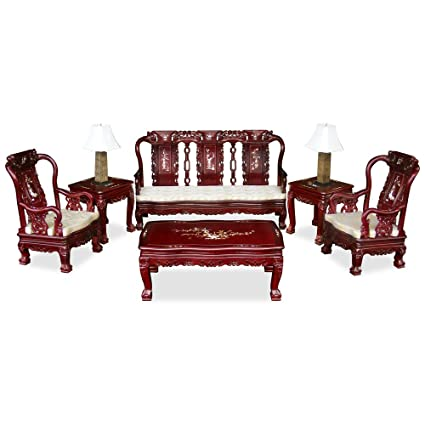 Amazon Com Chinafurnitureonline Hand Crafted Imperial Prosperity