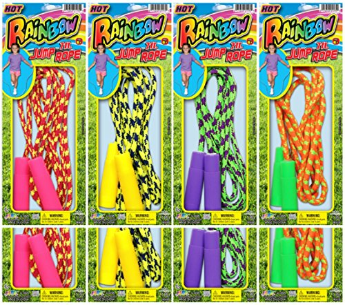Ja-Ru Rainbow Jump Rope ASST Bundle Pack