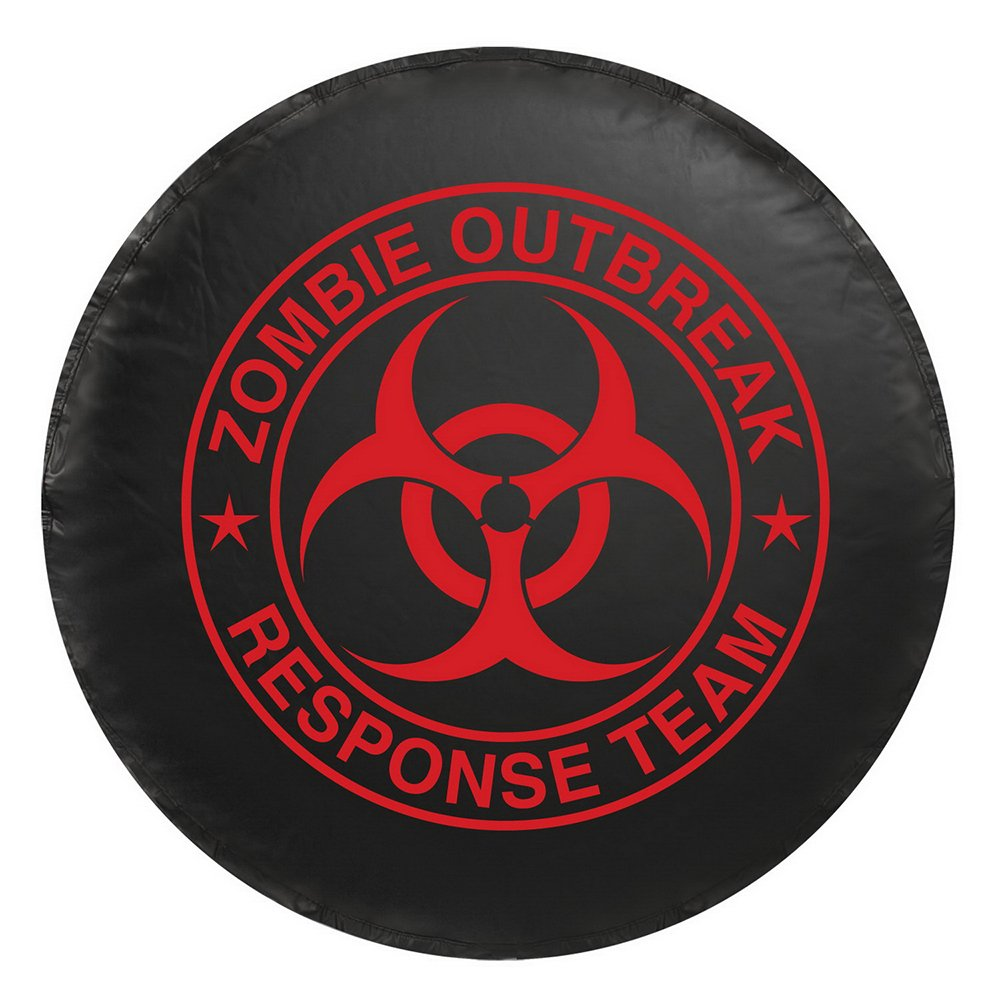 Bully CM-07G Spare Tire Cover (Zombie Green Logo - Large)