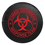 Bully CM-06R Spare Tire Cover (Zombie Red Logo -Small)